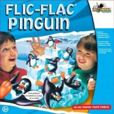 Joc de Indemanare - Flic Flac cu Pinguini - Jocuri Logica si inteligenta Noriel