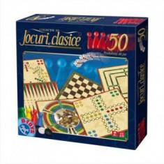 Joc Societate - Jocuri clasice 50 - Jocuri Logica si inteligenta D-Toys
