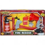 Set Pompieri cu portavoce si baterii