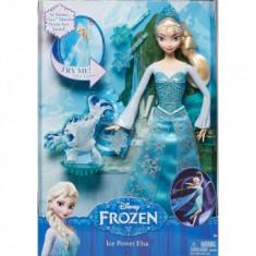 Papusa Disney - Printesa Elsa Ice Power