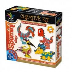Joc de Creatie - Spumini - Dino - Jocuri arta si creatie D-Toys