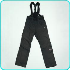 Pantaloni tip salopeta ski / iarna PEAK PERFORMANCE _ barbati baieti | marimea S - Echipament ski