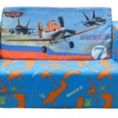 Fotoliu extensibil Planes - Masuta/scaun copii