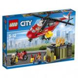 LEGO® City Unitatea de interventie de pompieri , 257pcs