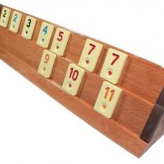 Jocde Remi /Rummy / Remy cu tabla din lemn ! - Joc board game
