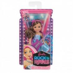 Papusa - Mini Barbie in Rock N Royals, 4-6 ani