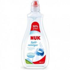 NUK - Solutie pentru curatat biberoane si suzete 500ml