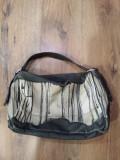 Geanta DIESEL originala tesut gros + piele model superb !, Multicolor, Medie