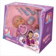 Bebelas - ALICE - La Doctor - Papusa D-Toys, 4-6 ani