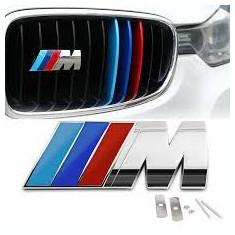 Emblema metal Grila Tunning BMW M Power antifurt NOU - Embleme auto