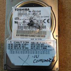 """HDD LAPTOP TOSHIBA IDE 2.5"""" 10GB MK1031GAS DEFECT, Sub 40 GB"""