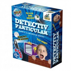 Joc Distractiv - Detectiv Particular - Jocuri Logica si inteligenta D-Toys