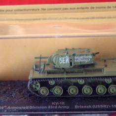 Macheta tanc KV-1E - Briansk - 1941 scara 1:72