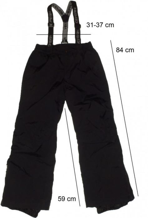 Pantaloni ski schi ICEPEAK originali, impecabili (tineret 140 cm) cod-261460 foto mare
