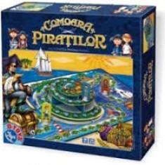 Joc Distractiv - Comoara Piratilor - Jocuri Logica si inteligenta D-Toys