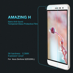 Geam Asus Zenfone 3 ZE520KL Tempered Glass H by Nillkin - Folie de protectie Asus, Lucioasa