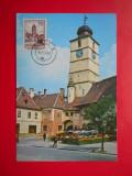 HOPCT MAXIMA 26608  SIBIU TURNUL STATULUI, Romania de la 1950