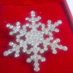 Brosa deosebita model star crystal cod 1610BS4 - Brosa Fashion