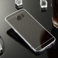 Husa Samsung Galaxy S4 i9500 TPU Ultra Thin Mirror Black - Husa Telefon Samsung, Negru, Gel TPU, Fara snur, Carcasa