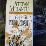 STEFAN MELANCU ELEGII INTIMPLATOARE - Carte mitologie