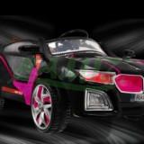 Masina Sport VIP cu Acumulator - Negru