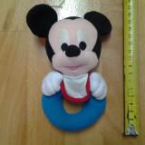 Mickey Mouse, jucarie zornaitoare, de plus 16 x 10 cm