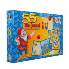 Joc Societate - 55 de Jocuri intr-unul singur - Jocuri Logica si inteligenta Noriel