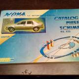 DACIA NOVA * Catalog Piese Schimb - Automobile Dacia, 1998