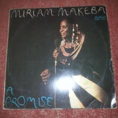 Miriam Makeba - A Promise - Amiga 1987 Germany vinil vinyl - Muzica Ambientala Altele