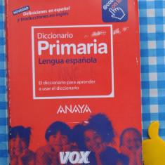 Diccionario de Lengua espanola Primaria - Curs Limba Spaniola Altele