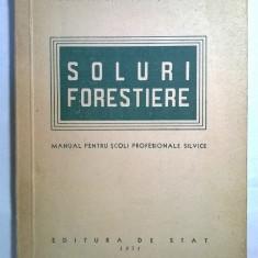 Soluri forestiere Manual pentru scoli profesionale silvice - Carte Biologie
