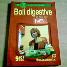 BOLI DIGESTIVE -DR. RARES SIMU - Carte Gastroenterologie