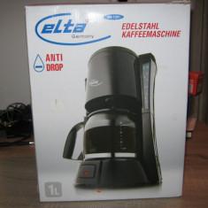 Cafetiera Elta Germany, 1L, Anti-picurare, Incalzire, 800 Wati