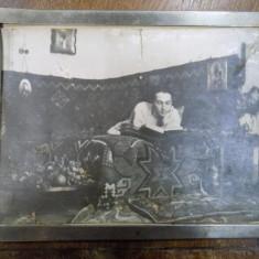 Pastorel Teodoreanu, fotografie originala - Harta Europei