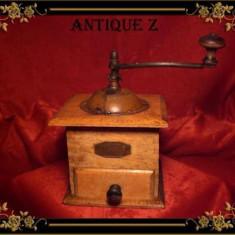 Rasnita manuala cafea, frantuzeasca, antique,