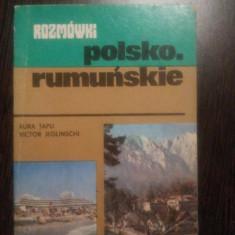 GHID DE CONVERSATIE POLON - ROMAN - Aura Tapu, Victor Jeglinschi - 1981, 208 p.