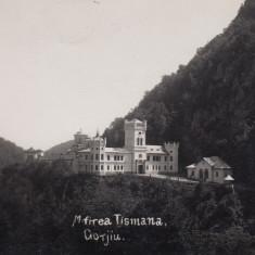ROMANIA OLTENIA MANASTIREA TISMANA GORJIU, FOTO AGFA - Carte Postala Oltenia dupa 1918, Necirculata, Fotografie