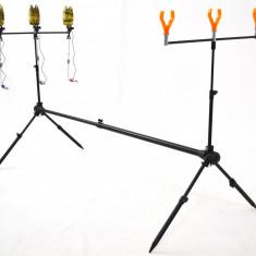 KIT 3 lansete EPOXY 3m cu 3 mulinete MIFINE cu 4 rulmenti rodpod 3 full - Set pescuit