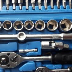 Trusa cu scule 108 piese scule pentru mecanici chei