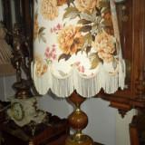 Superb lampadar de dimensiuni mari in stilul Baroc din onix