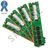 KIT Memorie RAM Hynix 4GB (4 x 1GB) 800MHz DDR2 PC2-6400 GARANTIE2 ANI !!!, Dual channel