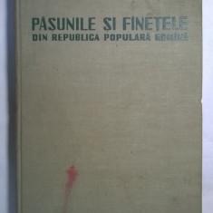 Pasunile si fanetele din Republica Populara Romana - Carte Biologie