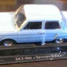 Macheta metal DeAgostini - Zaz 966 Zaporojet - Masini de Legenda Rusia - noua - Macheta auto, 1:43