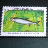 Timbru stampilat Natura Animale Pesti NICARAGUA 2+1 gratis RBK20977 - Timbre straine