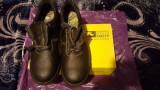 + Pantofi Sir Safe noi la cutie +, 43, Negru