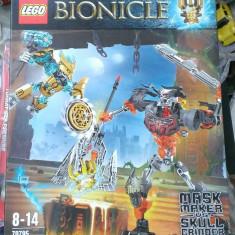 Lego Bionicle Original 70795 - Mask Maker vs. Skull Grinder - nou, sigilat - LEGO Movie