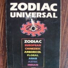 Zodiac universal - Carte astrologie