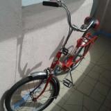 Bicicleta Pegas pliabila - Bicicleta pliabila, 15 inch, 20 inch, Numar viteze: 1