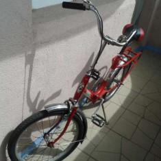 Bicicleta Pegas pliabila - Bicicleta pliabile, 15 inch, 20 inch, Numar viteze: 1