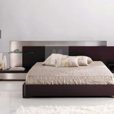 Pat cu noptiere - Pat dormitor